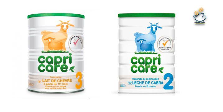 muestra gratuita lecha capricare