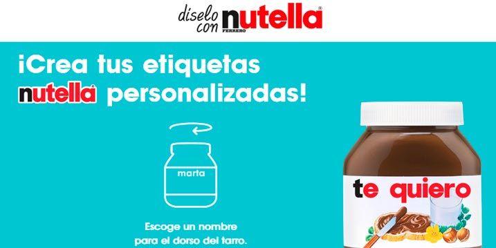muestras gratis nutella
