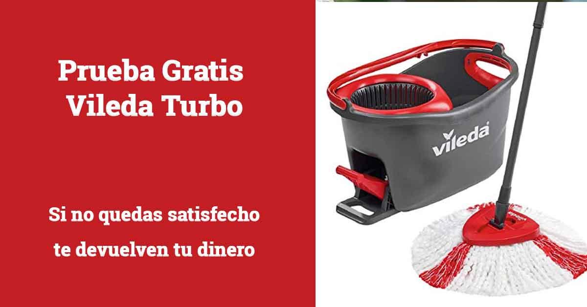 prueba gratis Vileda Turbo