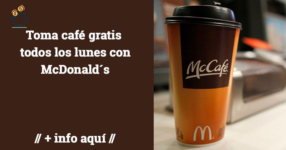 cafe gratis McDonald´s