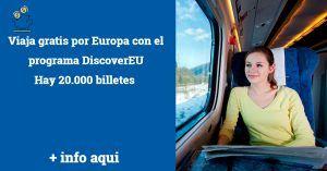 viajar gratis por Europa