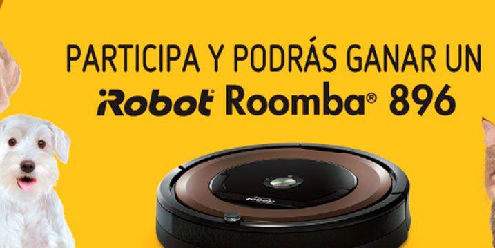 Sorteo robot roomba gratis