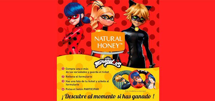 1.000 cojines gratis con Natural Honey