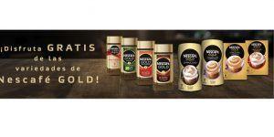 prueba gratis Nescafé Gold