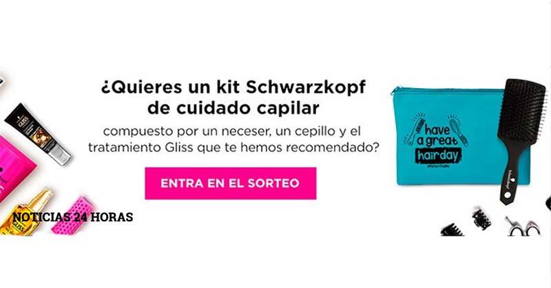 muestras gratis Schwarzkopf de cuidado capilar