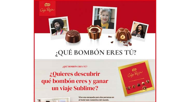 caja roja Nestlé