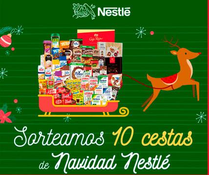 Sorteo cestas navidad Nestlé