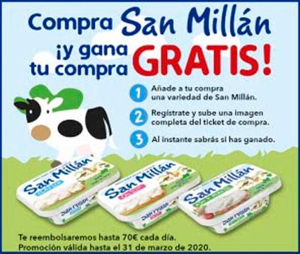 Quesos San Millán premios de hasta 70 euros