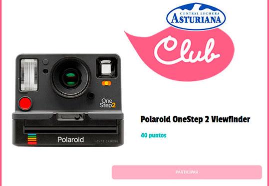 sorteo cámara polaroid de central lecher asturiana