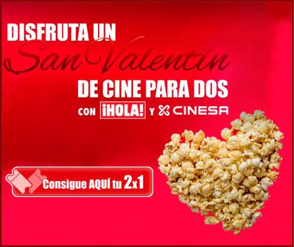 entradas de cine 2 x 1 cinesa