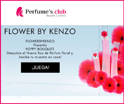 muestras gratis poppy bouquet by kenzo