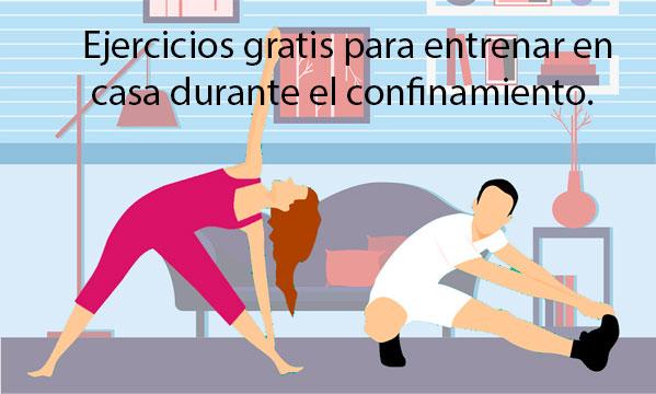 ejercicios para entrenar en casa confinamietno