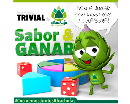 juego solidario trivial sabor y ganar