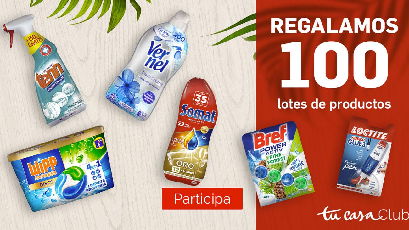 Henkel 100 lotes gratis