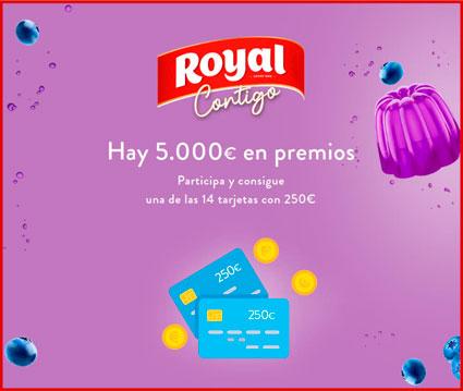 gelatinas royal sortea tarjetas regalo