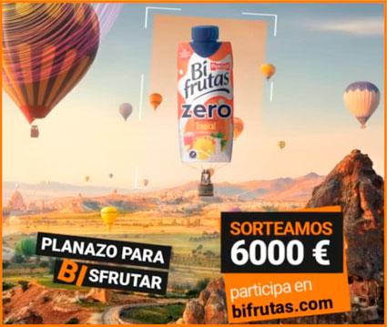 sorteo bifrutas 6000 euros y premios semanales