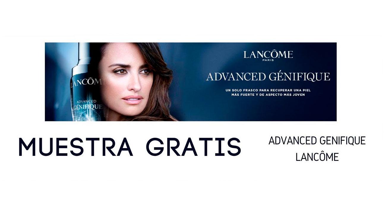 muestras gratis serum lancome