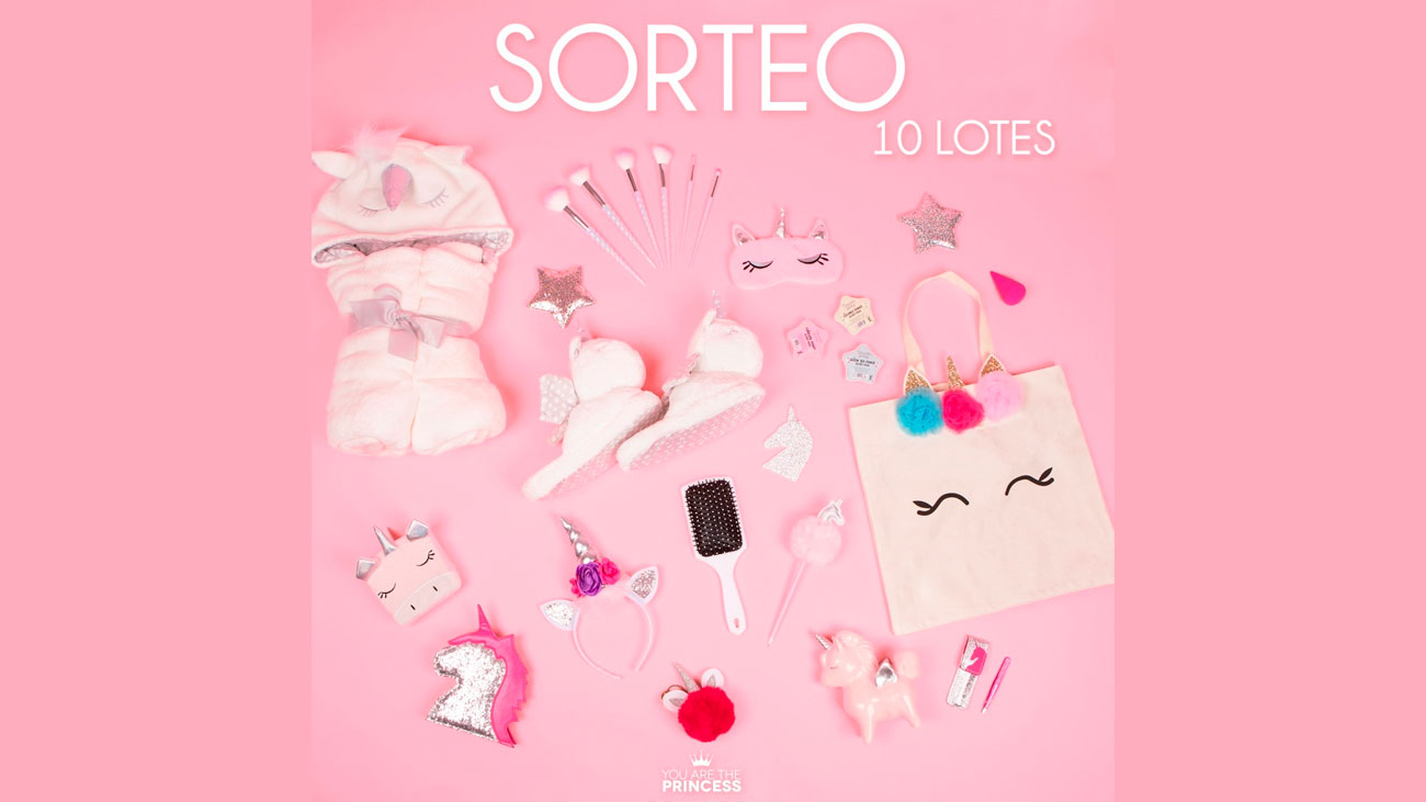 sorteo primor lote productos you are the princess