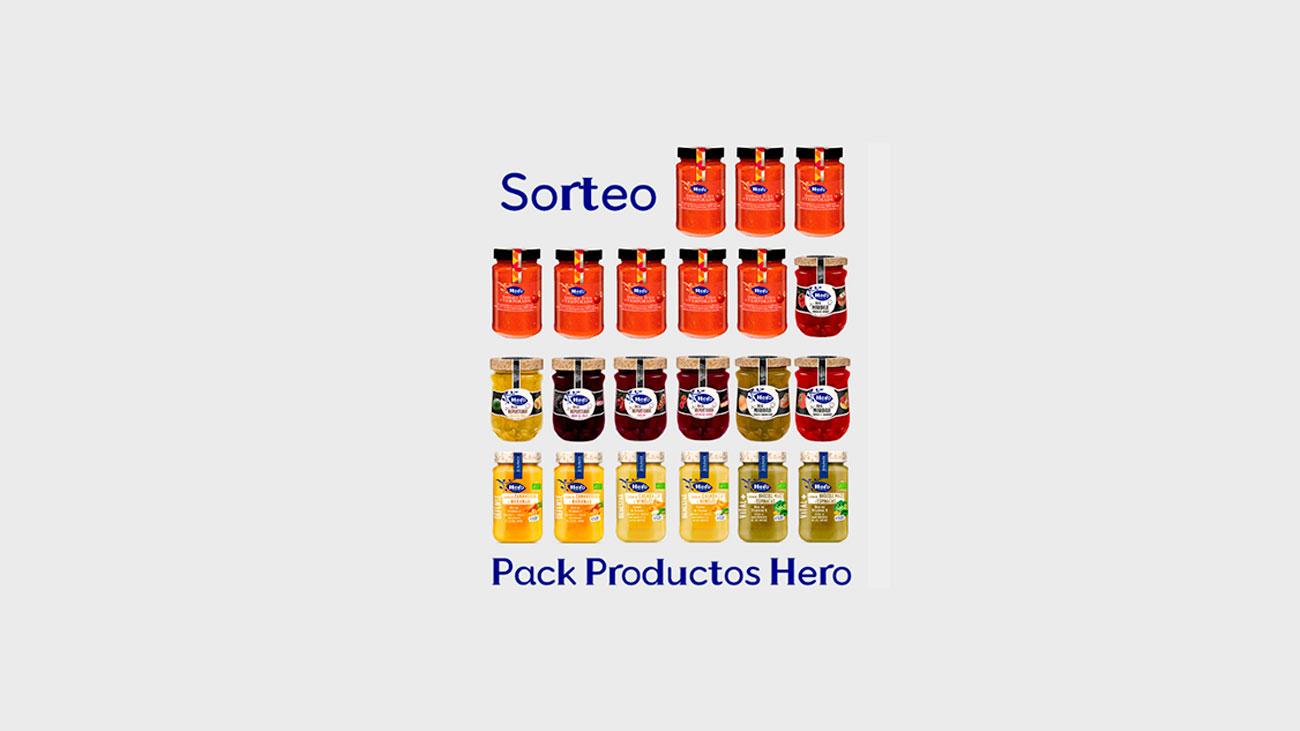 sorteo pack de productos hero
