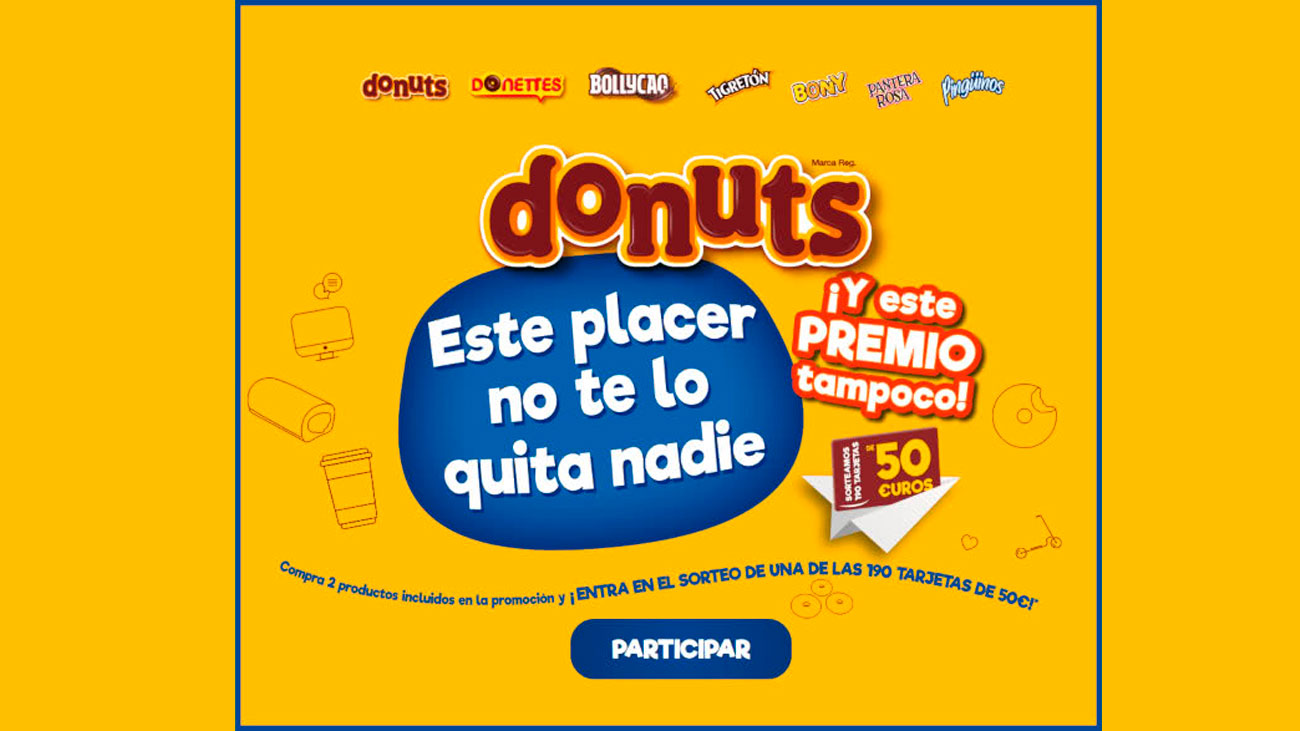 donuts sortea tarjetas regalo caixabank