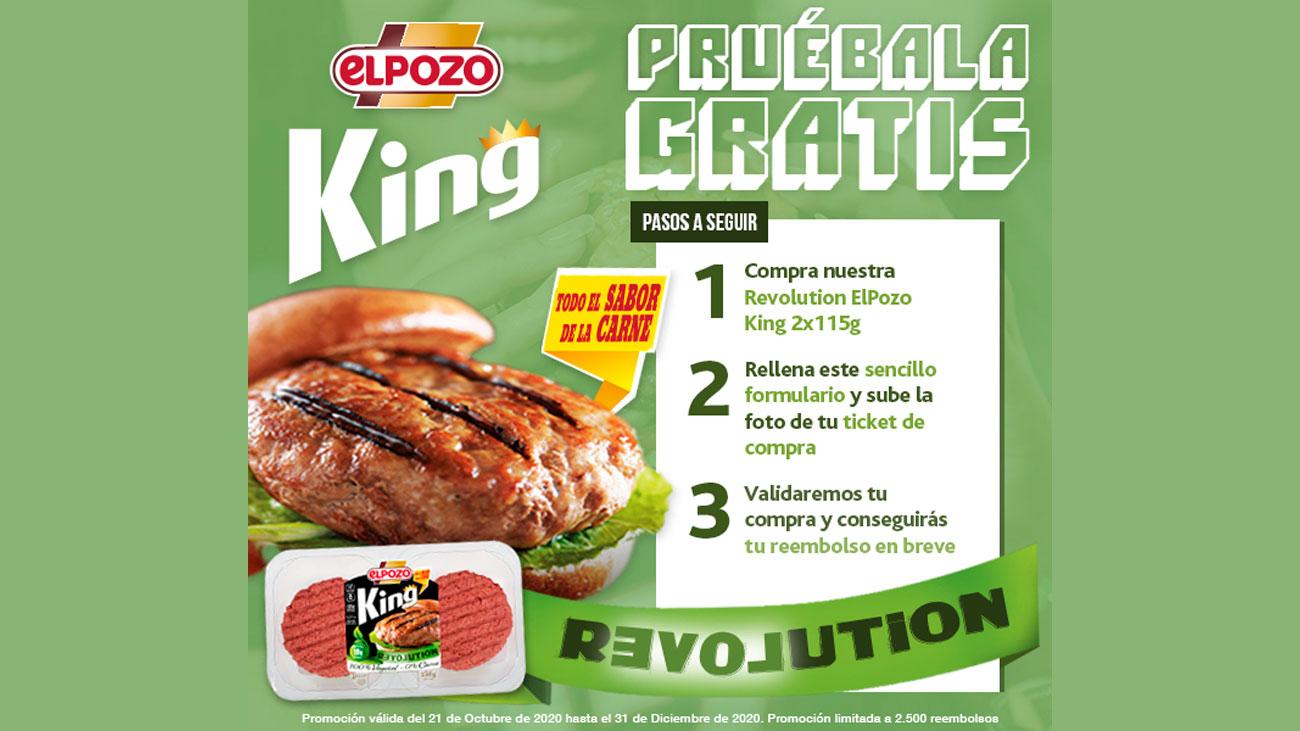 reembolsos el pozo king revolution
