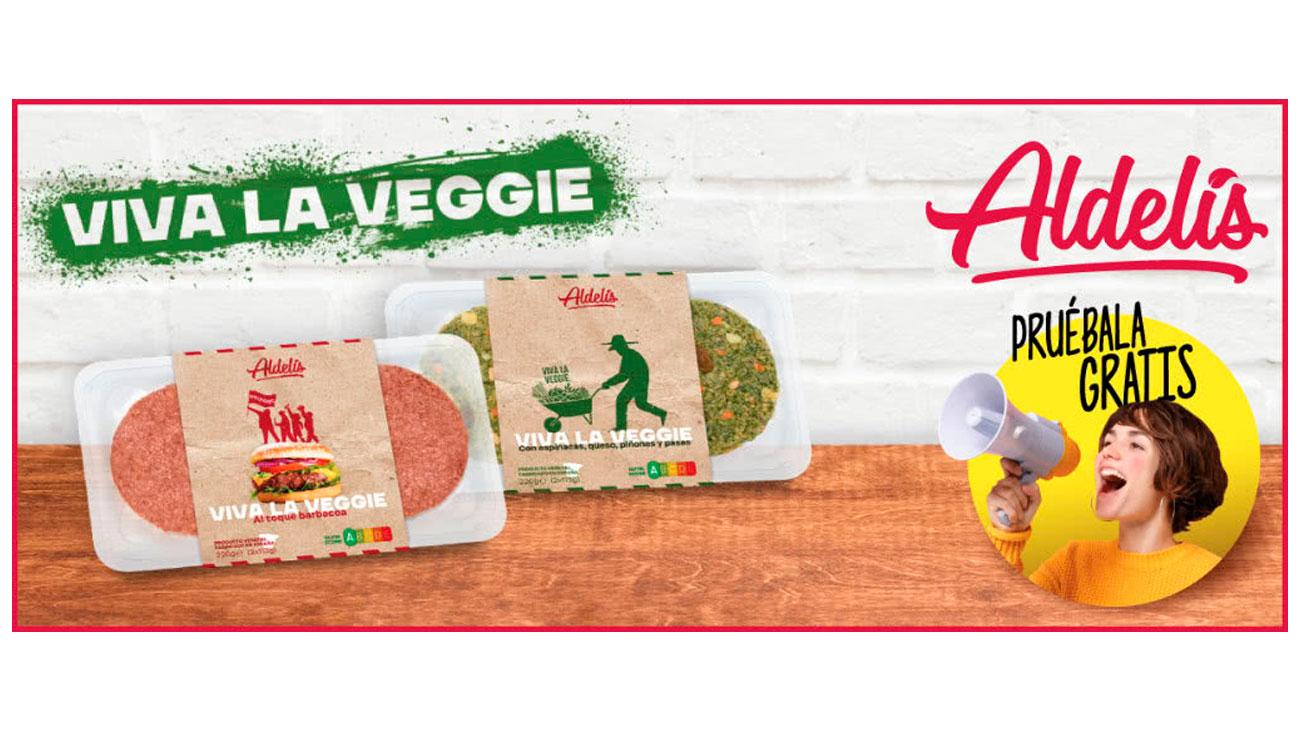 prueba gratis hamburguesas viva la veggie