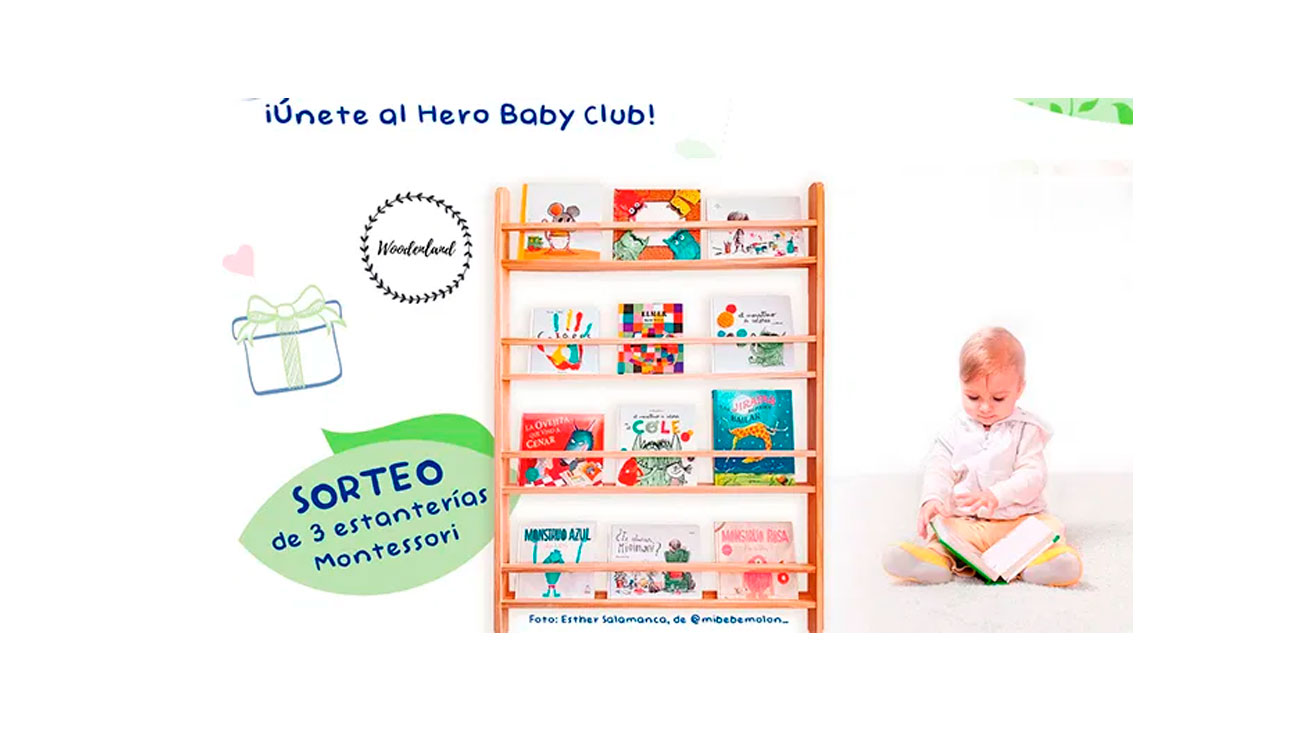 hero baby club estanterias gratis