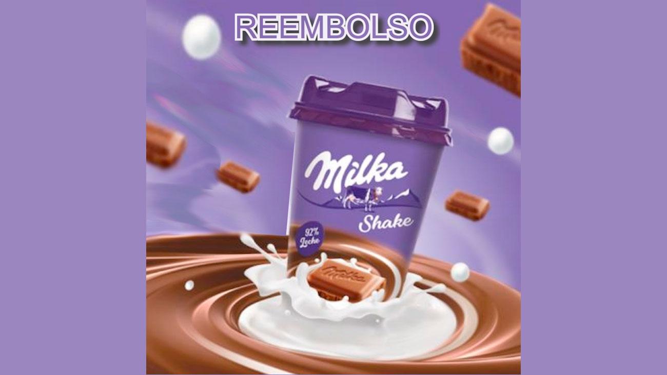 prueba gratis milka shake reembolso