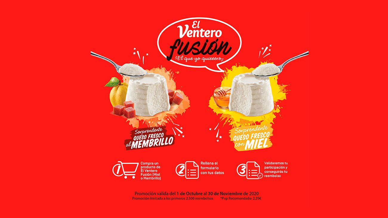 prueba gratis queso ventero fusion
