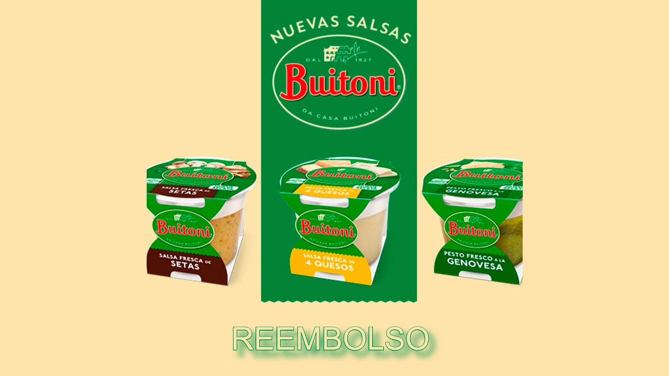 reembolso nuevas salsas buitoni gratis
