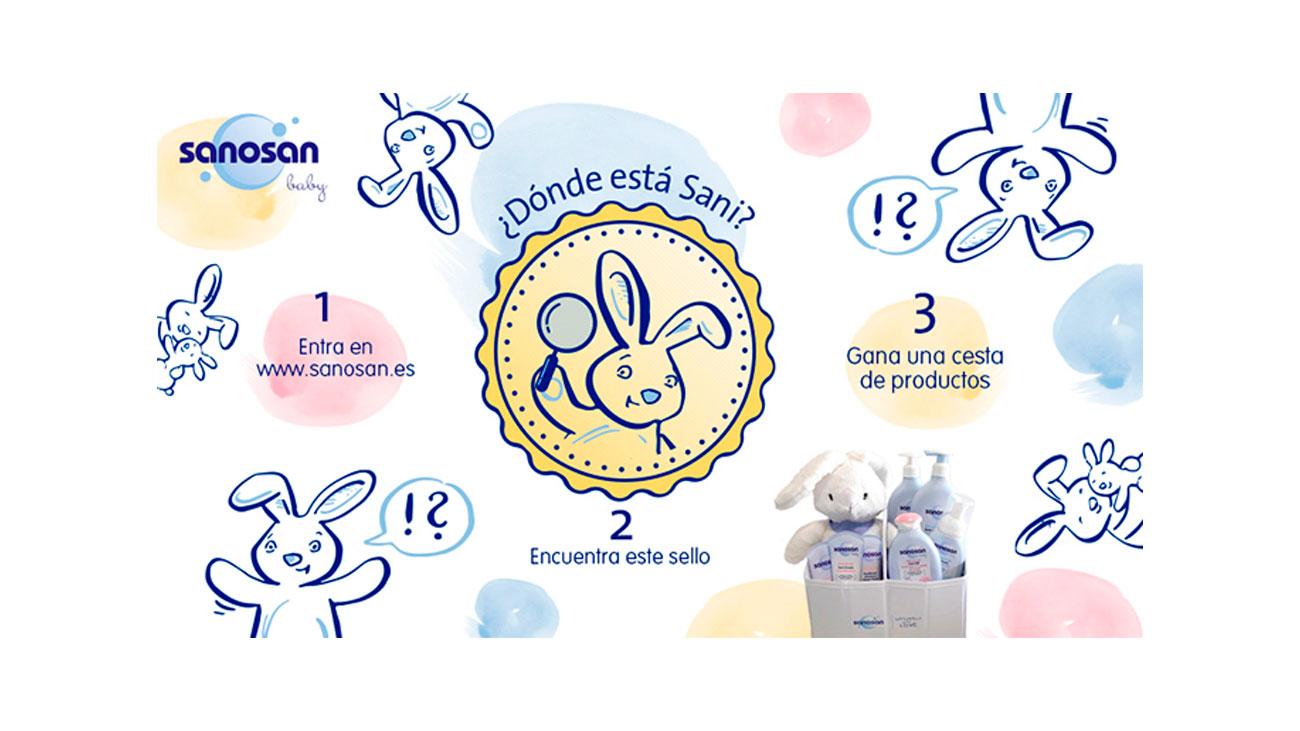 sorteo lote productos bebe sanonsan