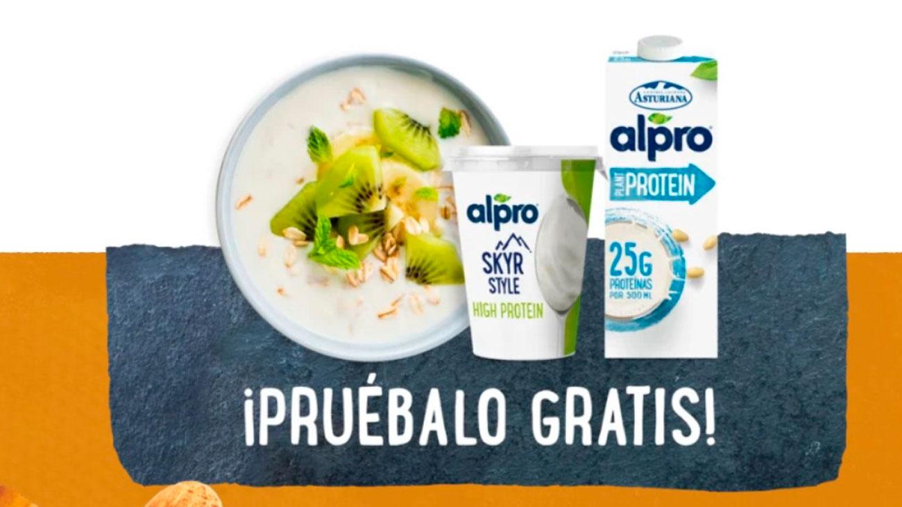 prueba gratis productos alpro