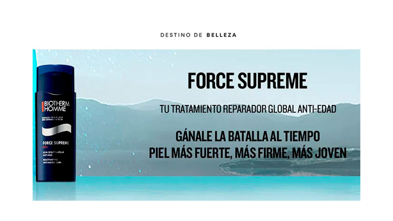 muestras gratis force supreme biotherm