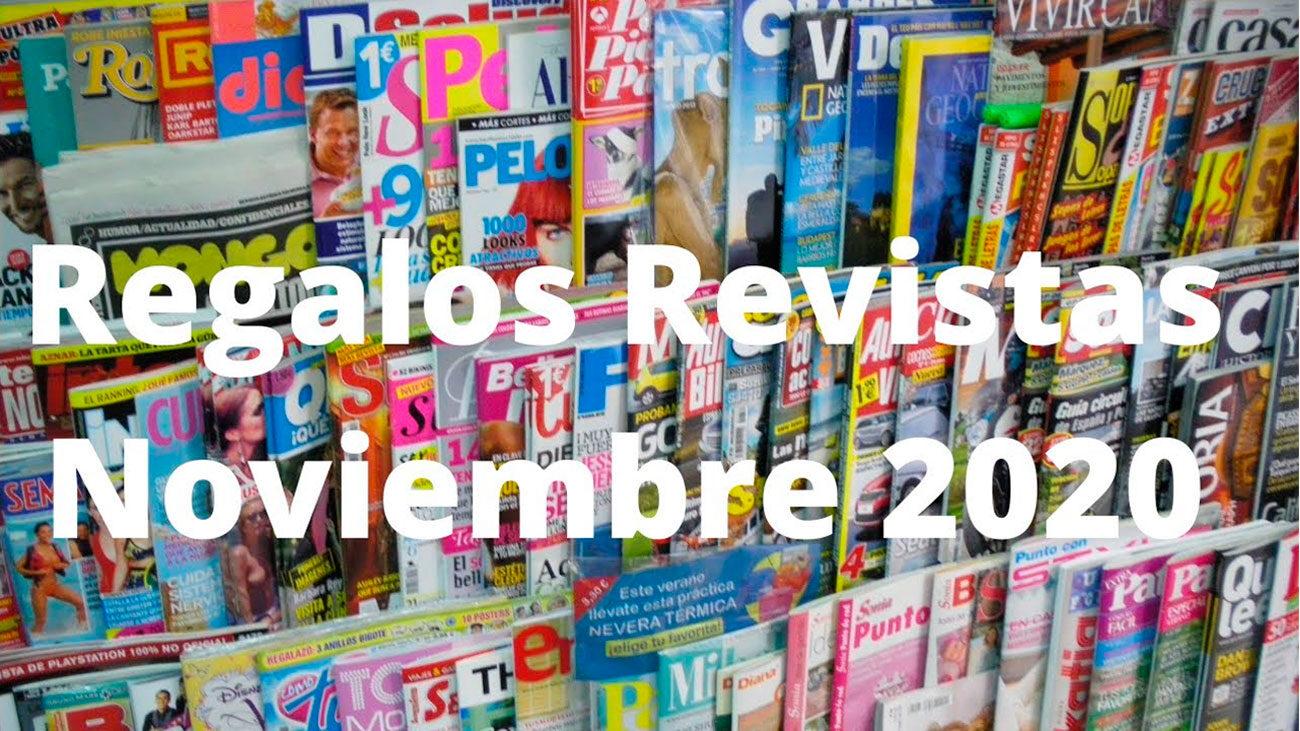 regalos y muestras gratuitas revistas noviembre