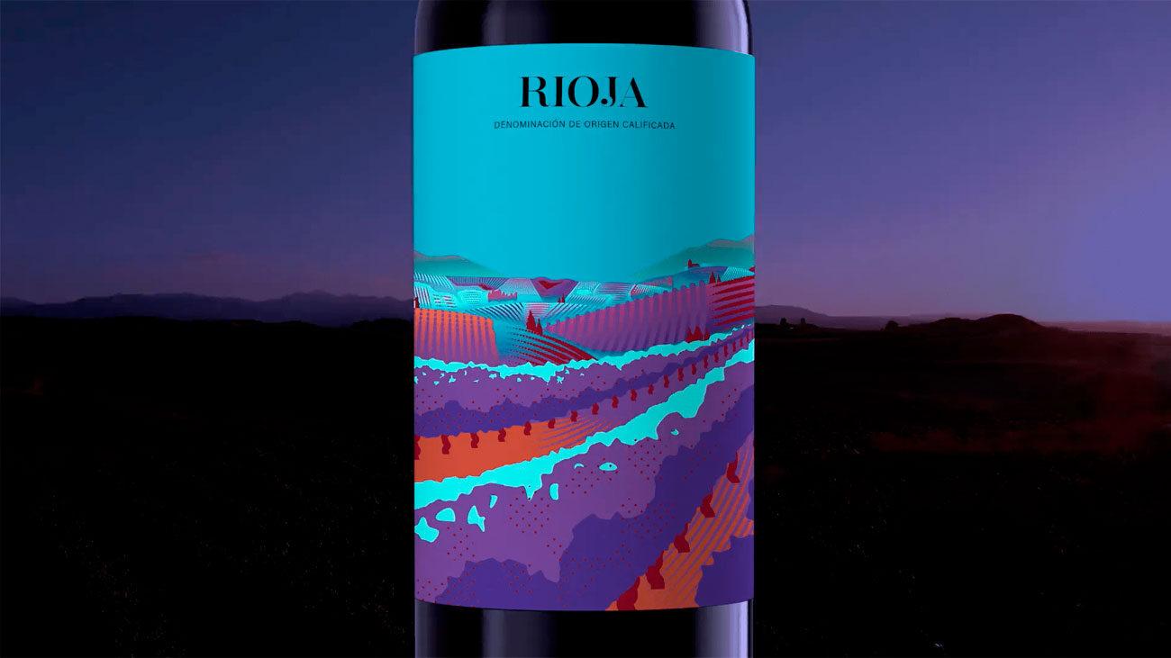 botellas de vino rioja personalizadas gratis