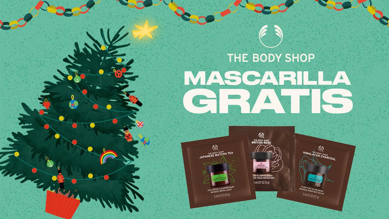 muestras gratis mascarillas facial the body shop