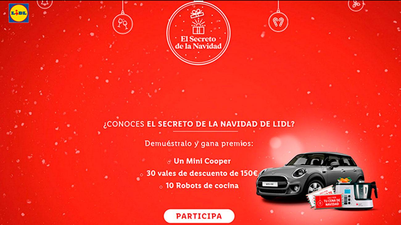 premios gratis el secreto de la navidad lidl