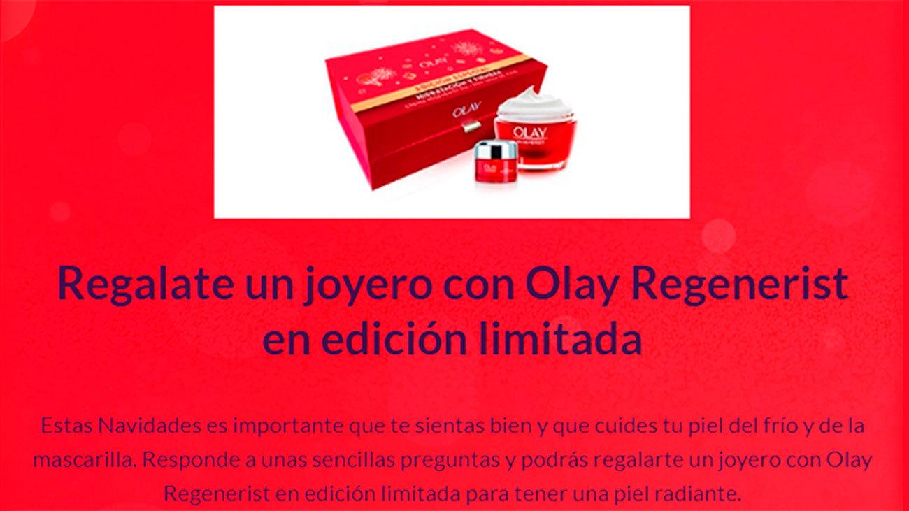 gratis joyero olay regenerist