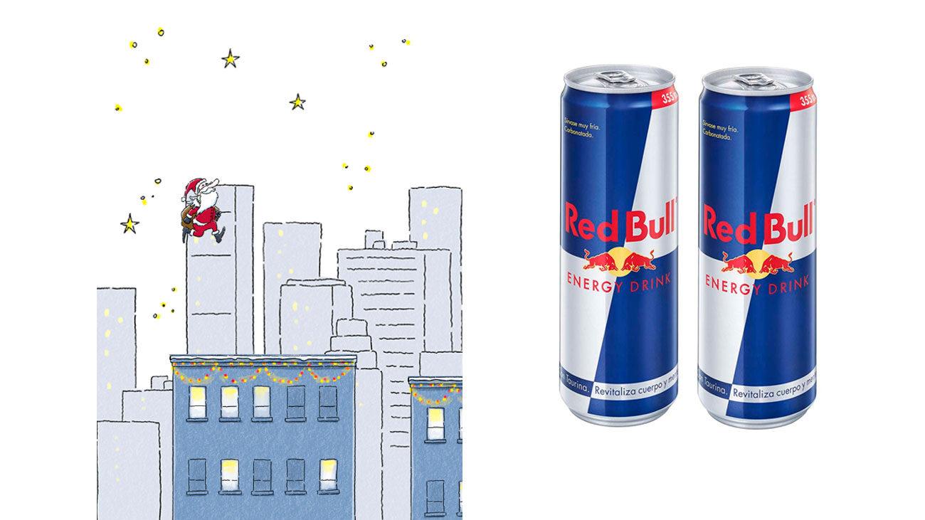 gratis pack red bull energy drink
