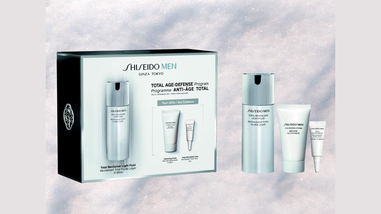 lote shiseido man gratis