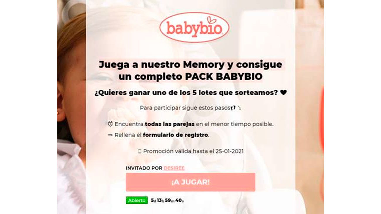 pack gratis potitos babybio