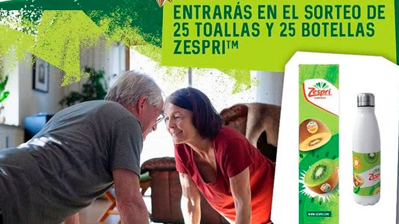 zespri regala packs para deporte gratis