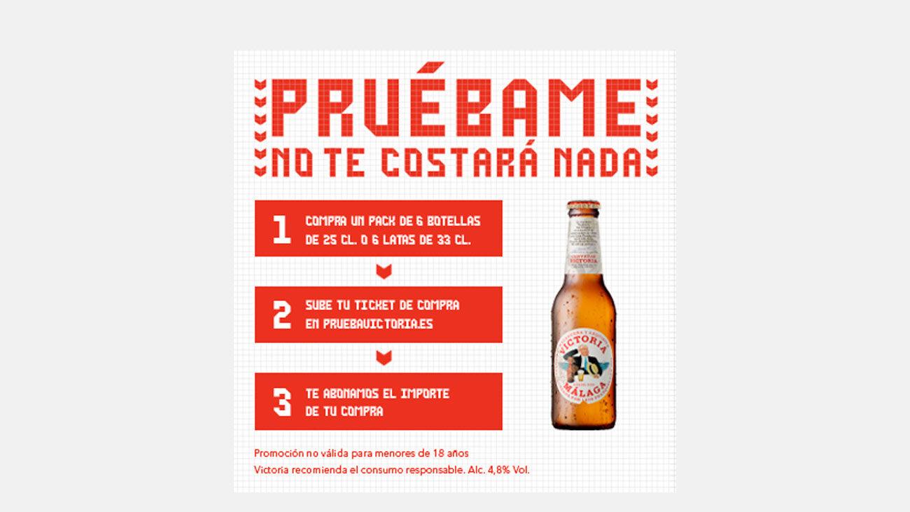 prueba gratis cervezas victoria