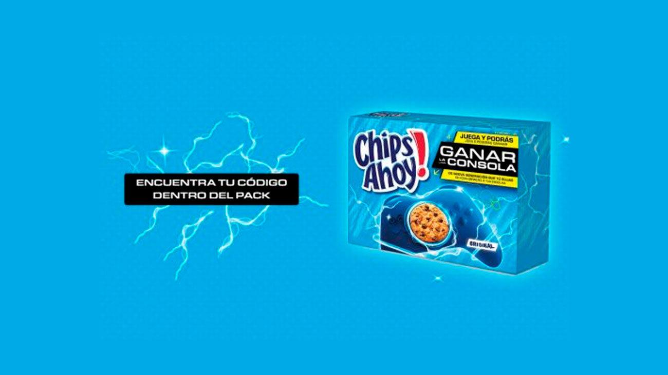 gratis consola chips ahoy