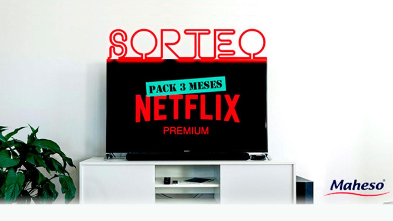 pack 3 meses gratis netflix premium maheso