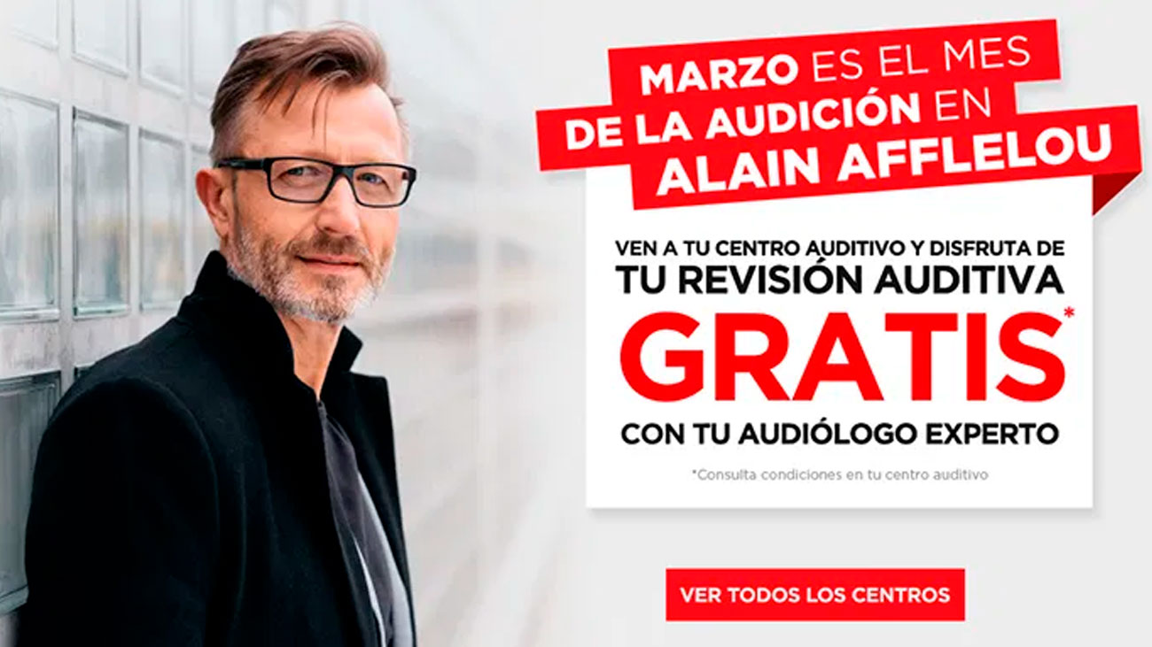 revision auditiva gratis alain affelou