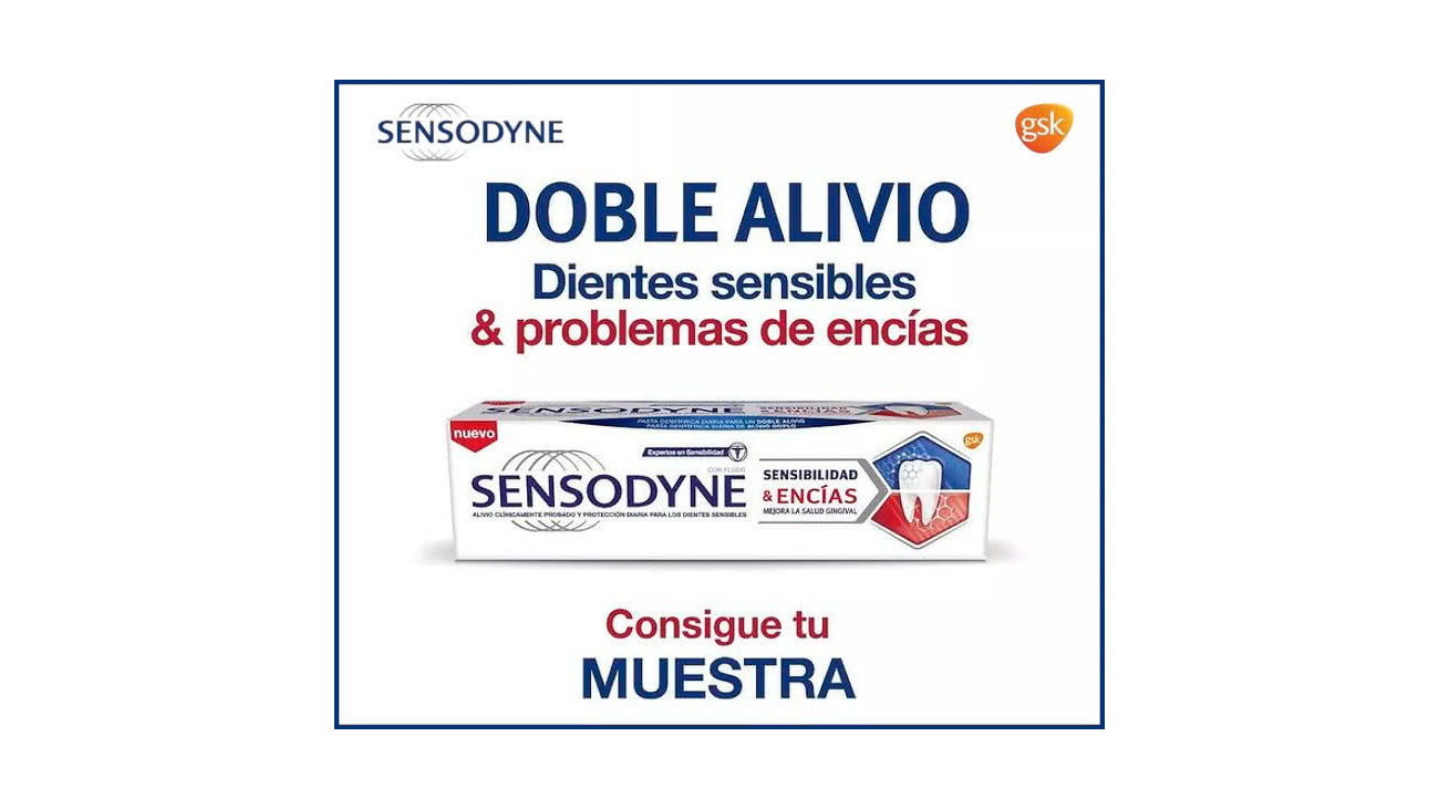 muestras gratis sensodyne