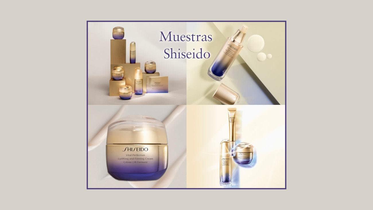 muestras gratis shiseido vital perfection