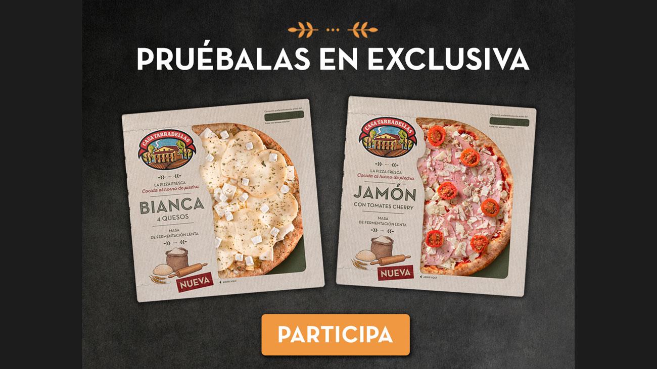 pizzas casa tarradellas gratis
