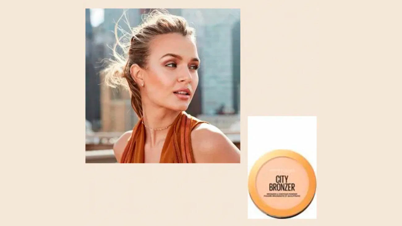 maybelline trendsetters polvos city bronzer gratis